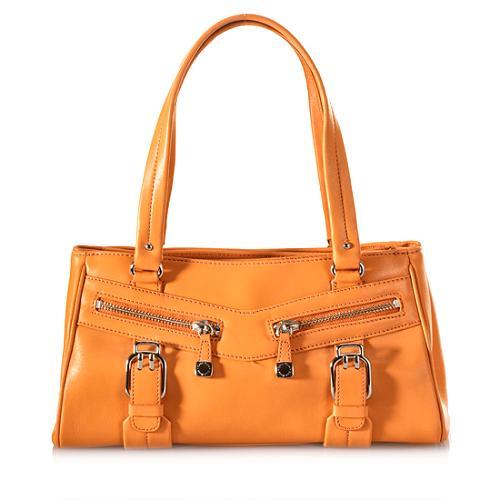 Cole Haan Leather Satchel Handbag
