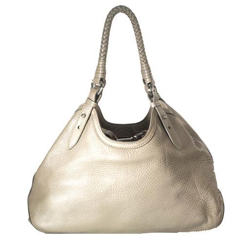 Cole Haan Leather Small Satchel Handbag