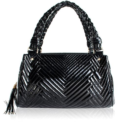 Cole Haan Patent Leather Laury Medium Tote