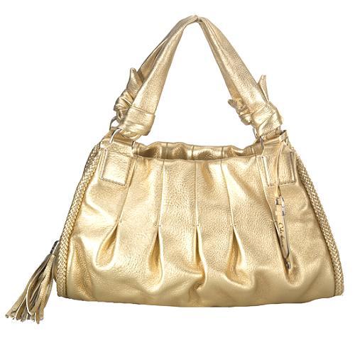 Cole Haan Phoebe Small Triple Zip Satchel Handbag