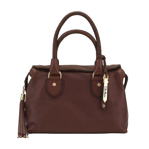 Cole Haan Saddle Small Box Satchel Handbag