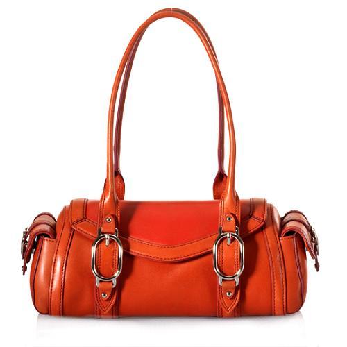 Cole Haan Sienna Leather Satchel Handbag