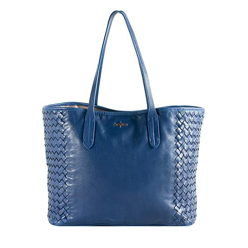 Cole Haan Victoria Woven Leather Tote