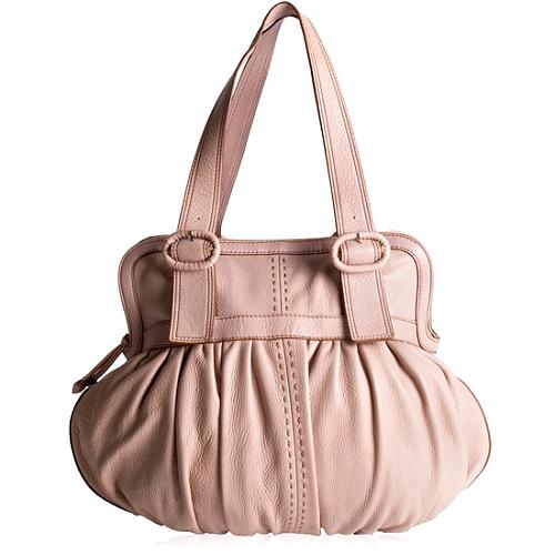 Cole Haan Village Ruched Satchel Handbag