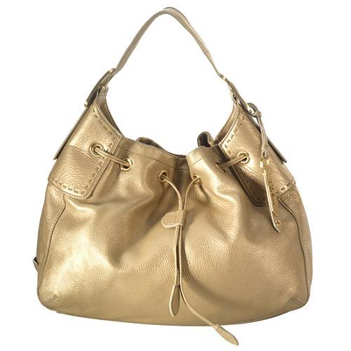 Cole Haan Village Soft Drawstring Hobo Handbag