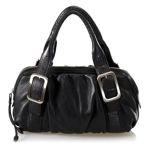 Cole Haan Village Soft E/W Rouched Satchel Handbag