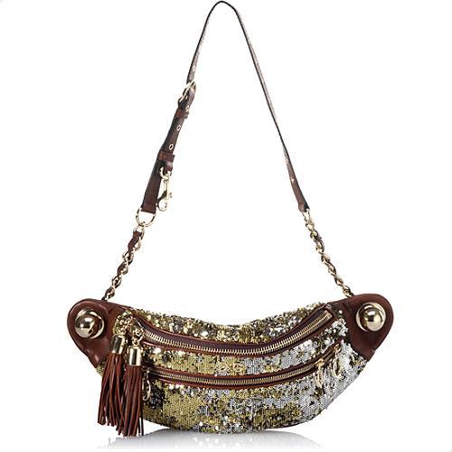 D&G Bedazzeled Hipster Bag