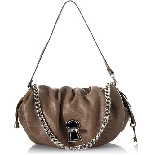 D&G Grained Calfskin Medium Vlada Handbag
