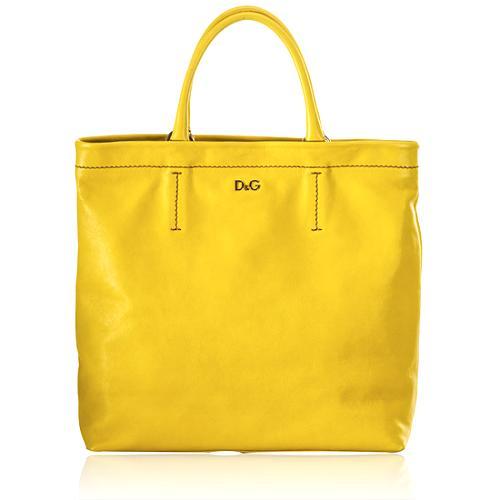 D&G Kori Medium Leather Tote