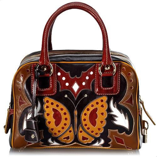 D&G Limited Edition Lily Rodeo Satchel Handbag