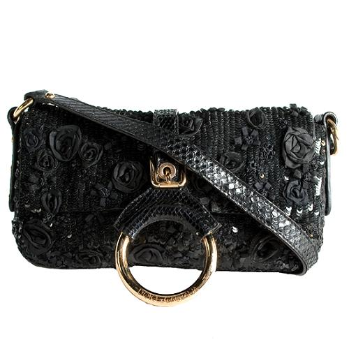 D&G Paillette Clutch