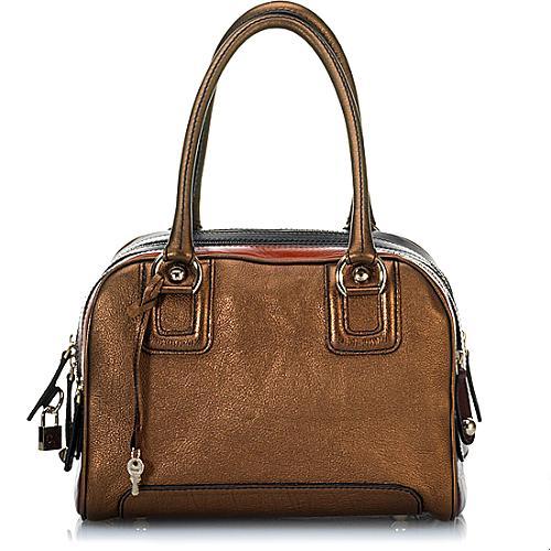 D&G Rigore Lily 5 Zip Medium Satchel Handbag
