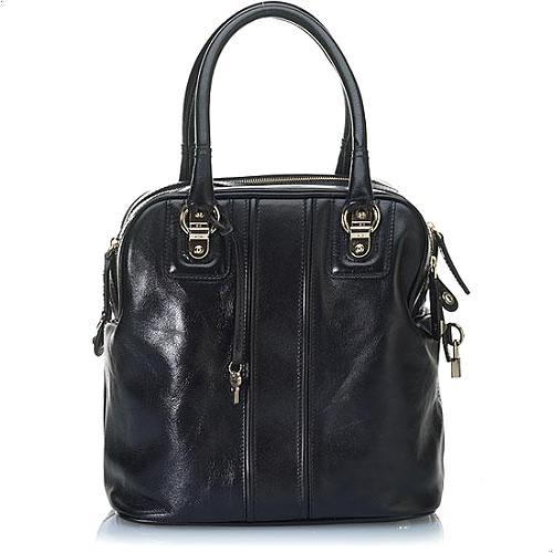 D&G Rigore Lily 5 Zip North/South Satchel Handbag