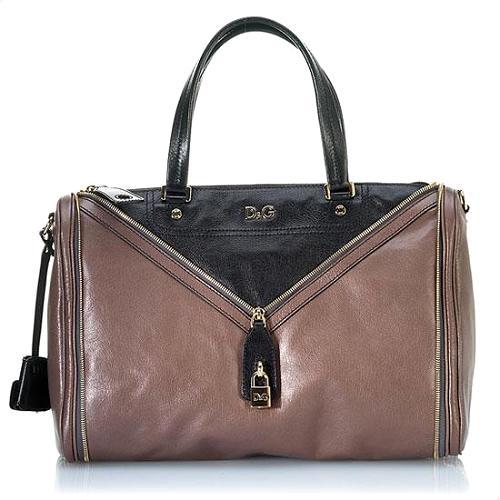 D&G Rigore Vilma Goatskin Satchel Handbag