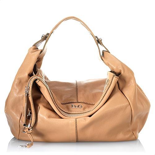 D&G Romantico Maki Medium Hobo Handbag