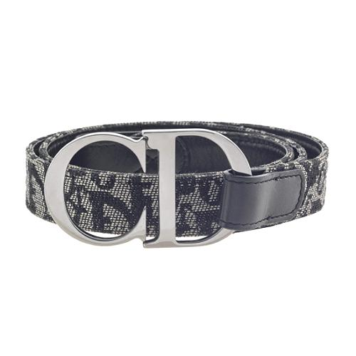 Christian Dior Logo Belt