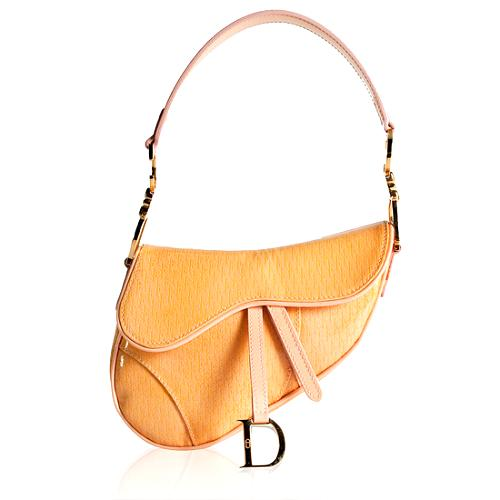 Dior 3-D Micro Saddle Shoulder Handbag