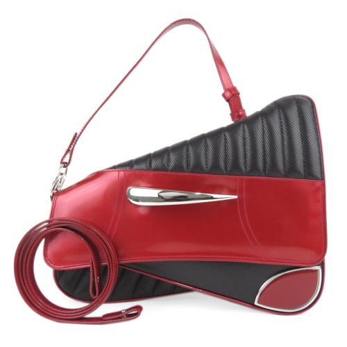 Dior Leather Cadillac Car Saddle Bag