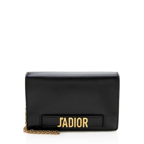 Dior Calfskin J'Adior Wallet On Chain Pouch Bag