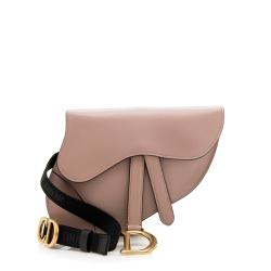 Dior Calfskin Saddle Belt Bag