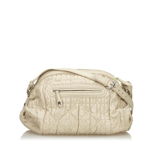 Dior Cannage Leather Crossbody Bag