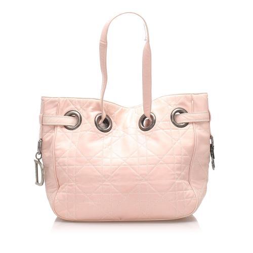 Dior Cannage Leather Shoulder Bag