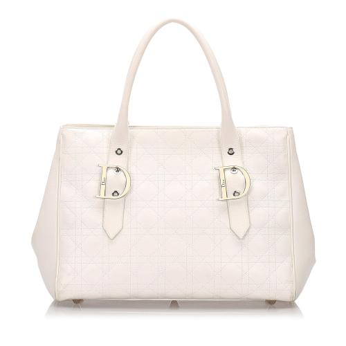 Dior Leather Cannage Tote