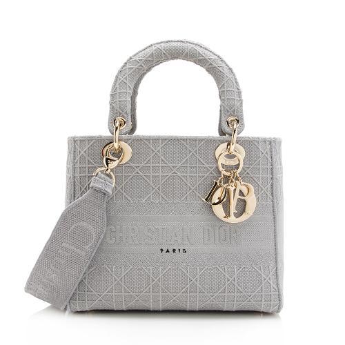 Dior Cannage Medium Lady D-Lite Bag