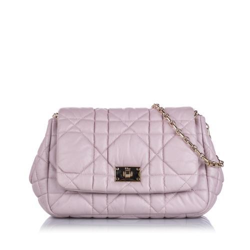 Dior Cannage Milly La Foret Shoulder Bag