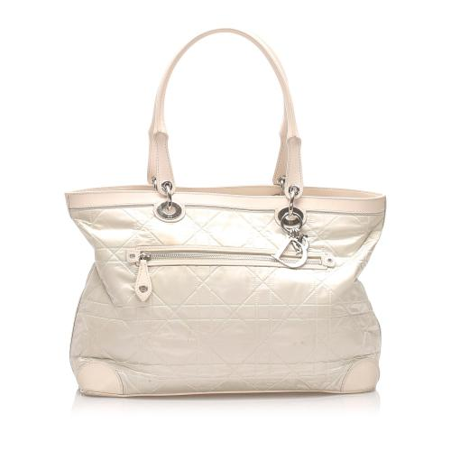 Dior Satin Cannage Tote