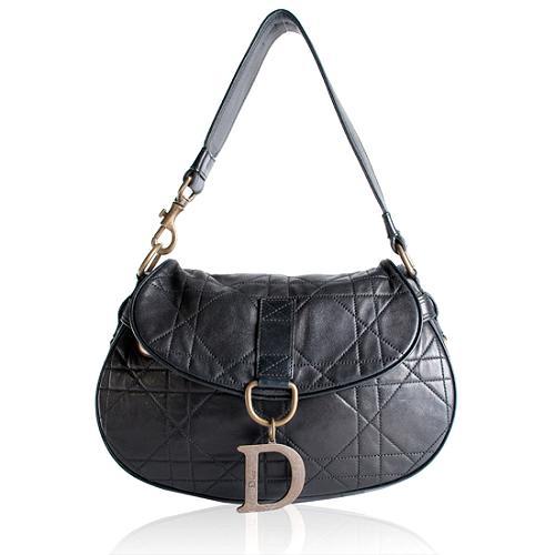Dior Cannage Shoulder Handbag