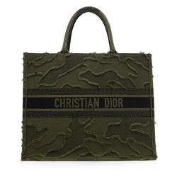 Dior Canvas Camouflage Book Tote