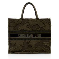 Dior Canvas Camouflage Book Tote