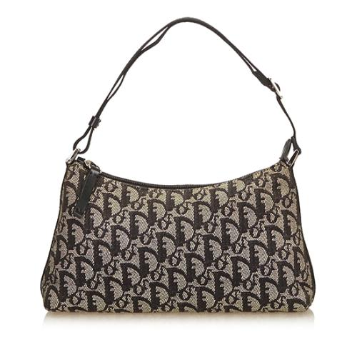 Dior Canvas Diorissimo Shoulder Bag