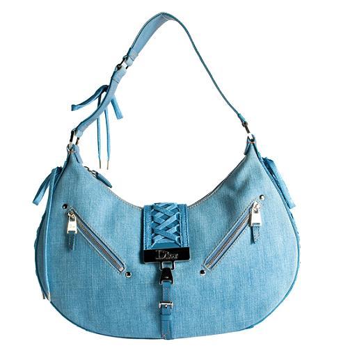 Dior Denim Admit It Shoulder Handbag