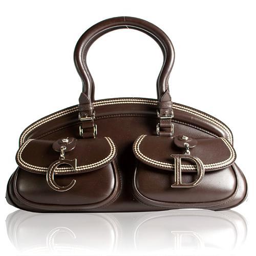 Dior Detective Satchel Handbag