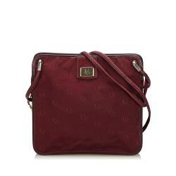 Dior Dior Oblique Canvas Shoulder Bag