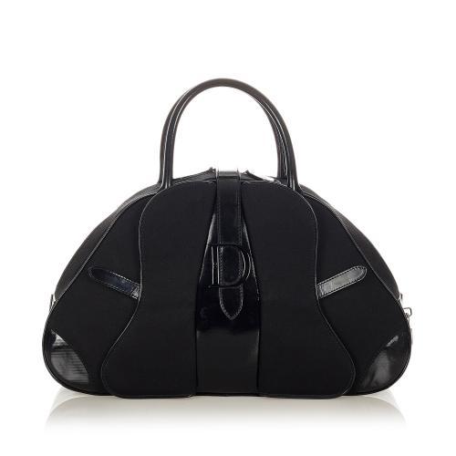 Dior Double Saddle Nylon Dome Bag