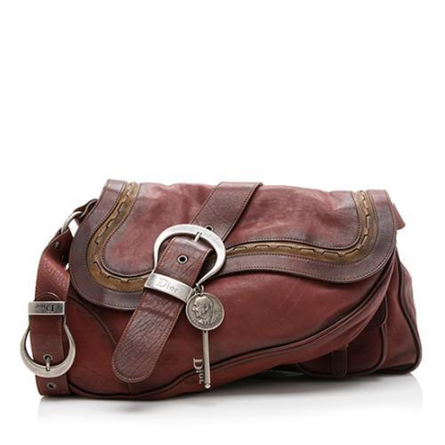 Dior Gaucho Double Saddle Shoulder Bag