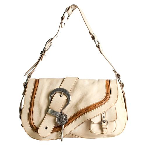 Dior Gaucho Medium Shoulder Handbag