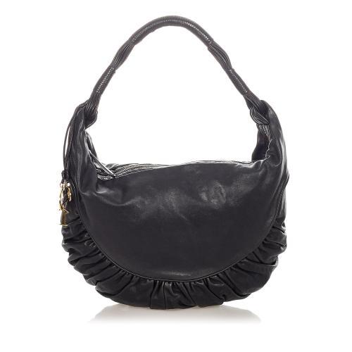Dior Gypsy Leather Hobo Bag