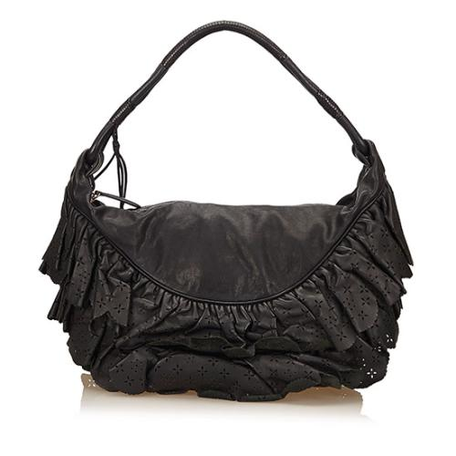 Dior Leather Gypsy Ruffles Small Hobo - FINAL SALE