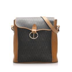 Dior Coated Canvas Honeycomb Crossbody Bag