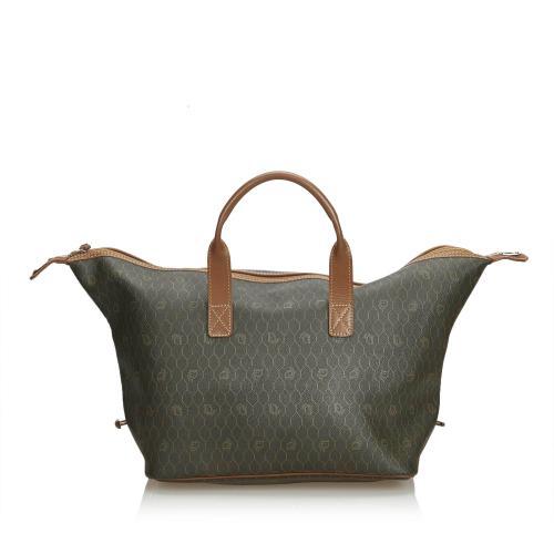 Dior Honeycomb Leather Weekender