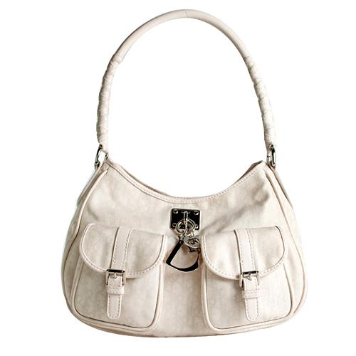 Dior Jacquard Lovely Hobo Handbag