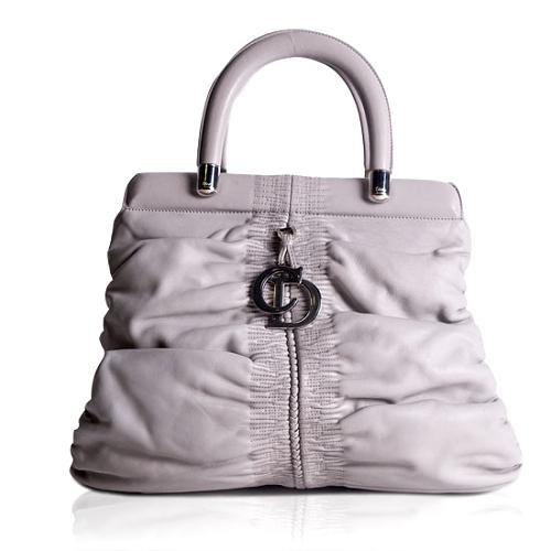 Dior Karenina Hermitage Leather Tote