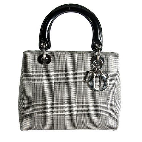Dior Lady Dior Check Tote
