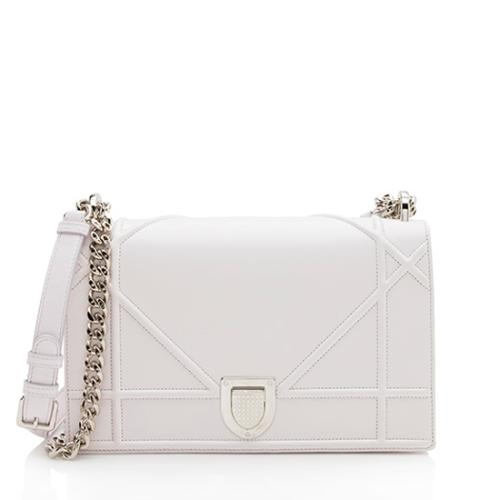Dior Lambskin Diorama Medium Shoulder Bag