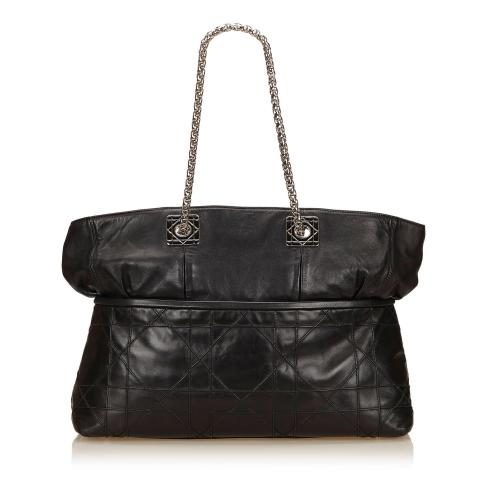 Dior Leather Canage Tote