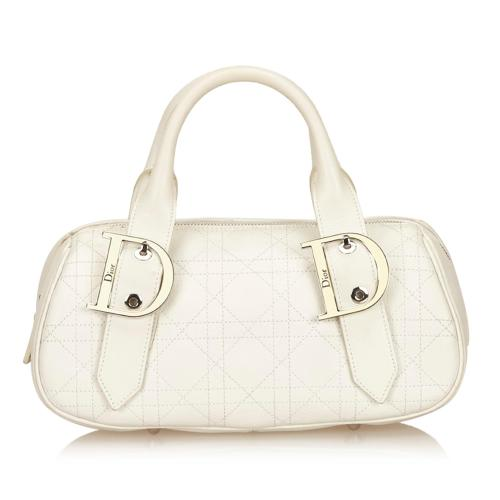 Dior Leather Cannage Satchel